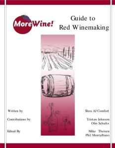 guide to wine making