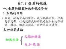 第七章 金属塑性成型(二-金属的锻造)