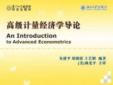 《高级计量经济学》第6章 联立方程模型(平价文档、一元文档)
