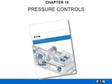 【液壓精品培訓資料】派克:壓力控制 pressure control 溢流閥 減壓閥
