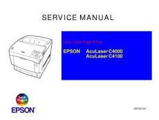 爱普生打印机用户手册和维修资料