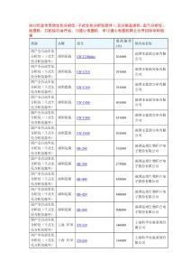 2013检验诊断设备价格