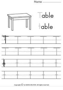 英文字母儿童模版