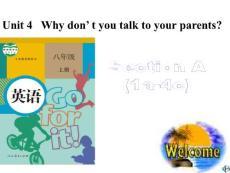 人教版新八年级英语下《Unit4_why_don´t_you_talk_to_your_parents》SectionA(1a-4c).ppt
