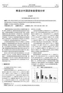 (2015专业论文)郫县乡村酒店体验营销分析