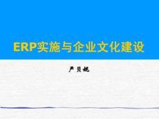 ERP实施与企业文化建设