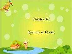 【大学课件】新进出口实务-----第六章