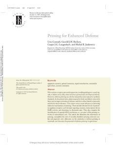 [PDF] Priming for Enhanced Defense