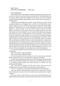 Heidi Roman Deutsch 小说《海蒂》的德语原版