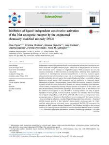 Inhibition of ligand-ind..