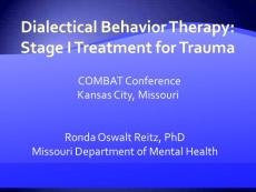 DIALECTICAL BEHAVIOR THERAPY - Jackson County