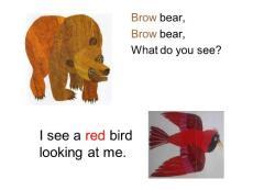 Brown bear绘本.ppt