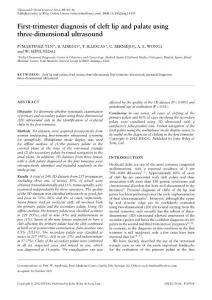 医学精品PPT课件——唇腭裂诊疗进展