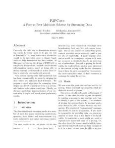 P2PCast A Peer-to-Pee..