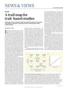 nature16862-Ecology- A trail map for trait-based studies