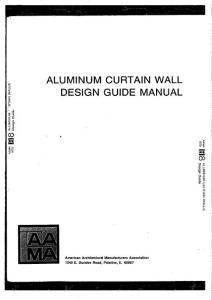 AAMA_CW-DG-1-94_Aluminium_Curtain_Wall_Design_Guide_Manual铝合金幕墙设计指导手册