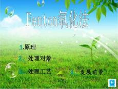 Fenton氧化法