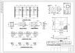 某格构柱式钢结构广告牌结构施工图