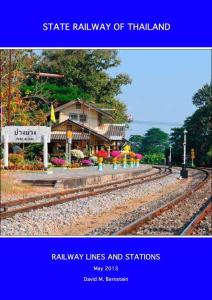 STATE RAILWAY OF THAILAND - ...