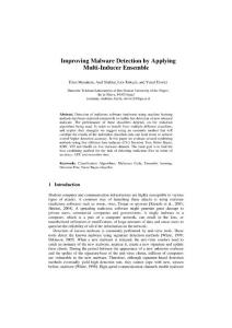Improving Malware Detec..