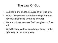 The Law Of God - Cardi..