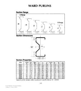 Ward Purlins