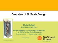 Overview of NuScale Design - Atoms For Peace
