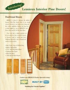 Lemieux Interior Pine D..