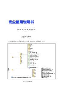PHP项目开发案例分析光盘使用说明书[管理资料]