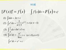 15积分基本公式