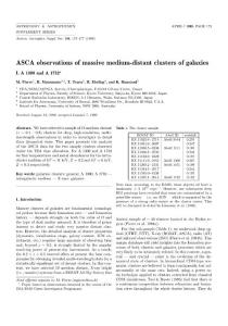 ASCA observations of m..