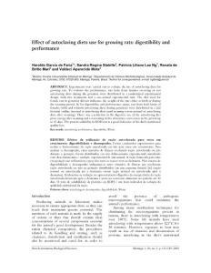 Effect of autoclaving di..