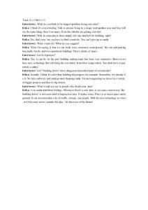 大学英语4部分听力原文