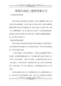 松原石油化工股份有限公司