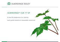 ALBERDINGK CUR 77 VP ECS 2013 - Alberdingk Boley GmbH