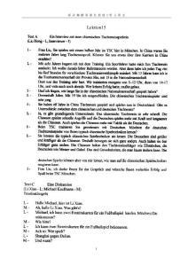 新求精德语强化教程初级2 听力原文