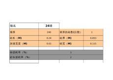 标砖用量计算