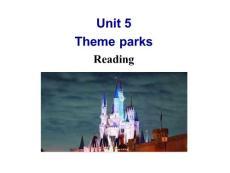 Book4unit5 theme park Reading ??槲錩图文