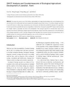SWOT Analysis and Cou..
