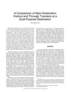 A Comparison of Main-D..