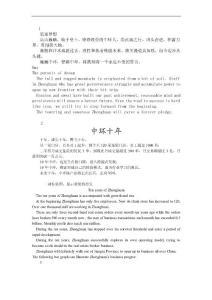 中环地产企业宣传册文字稿