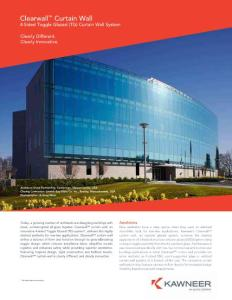 Clearwall Curtain Wall - arconic.com