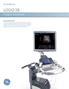 GE Logiq S8 R2 Produc..