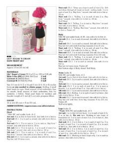 鉤針玩偶-莉莉娃娃(5)