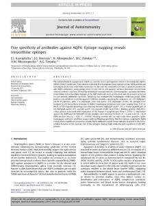 Journal of Autoimmunity..