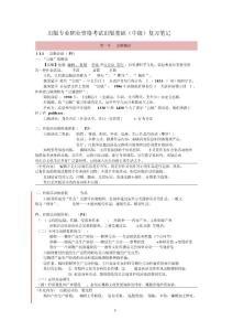 【精品资料】2015出版专业职业资格考试(中级)-基础知识考点总-精品资料