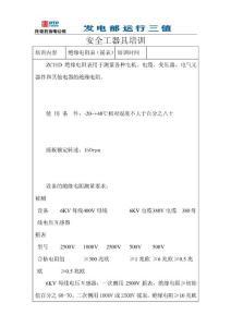 绝缘电阻表(摇表) .doc
