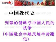 中国近代史专题复习