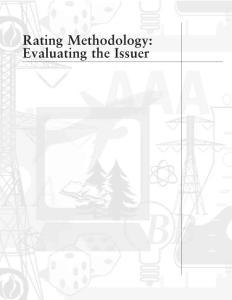 Standard & Poor´s Rating