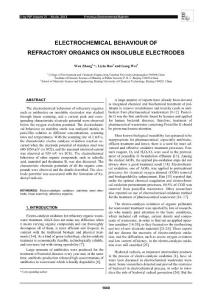 ELECTROCHEMICAL B..